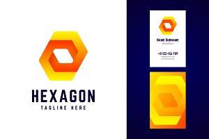 Hexagon logo.