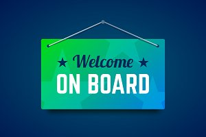 Welcome on board.