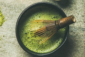 Matcha powder, Chashaku spoon