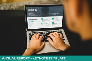 Annual Report - Keynote Template