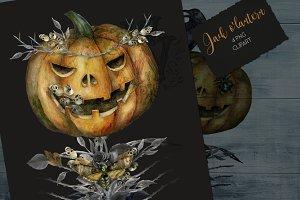 jack o'lantern Halloween clipart