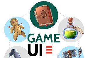 Cartoon mobile game design