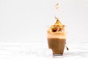 Iced Coffee Splash