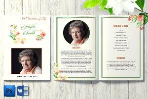 Funeral Program Template V23