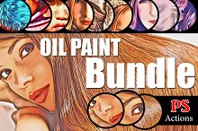 (70%off) MegaBundle Oil PaintActions