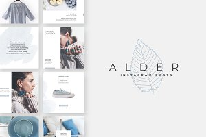 Alder Instagram Post Templates