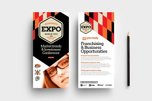 Business Event DL Card Template