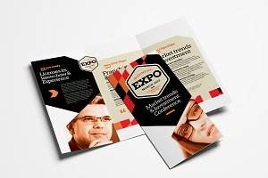 Business Event Trifold Brochure