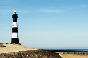 Breskens Lighthouse in Netherlands