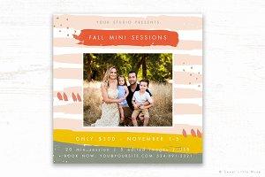 Fall Mini Session Template