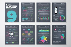 Infographic Brochure 9 Dark Version