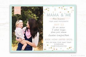 Mini Session Template - Mothers Day