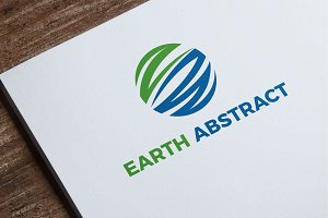 Earth Abstract Logo