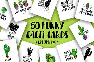 Cacti Cards