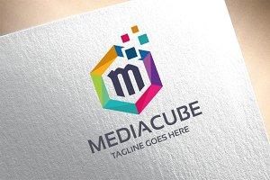 Letter M - MediaCube Logo