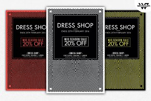DRESS SHOP Flyer Template