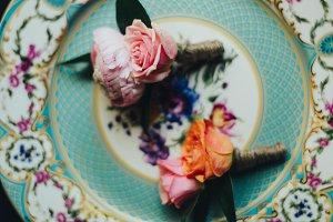 Vintage Wedding Flowers on China