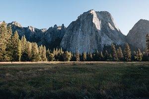 Sunset in Yosemite National Park