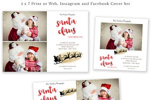 Santa Claus Mini Session Templates