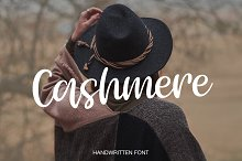Cashmere by  in Script Fonts
