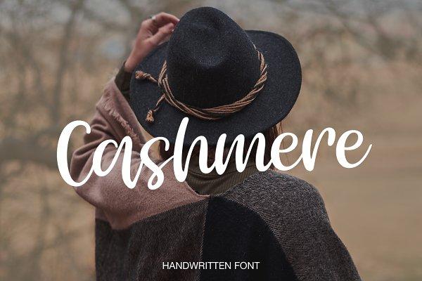 Script Fonts: Larin Type Co. - Cashmere