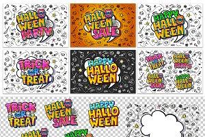 Halloween creative constraction kit