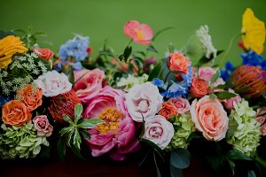 Gorgeous Lush Wedding Flowers