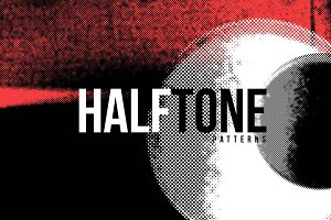HALFTONE - 55 Distressed Overlays
