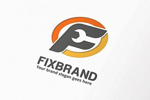 Fix Brand Letter F Logo