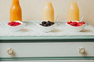 Breakfast Juice Bar Berries