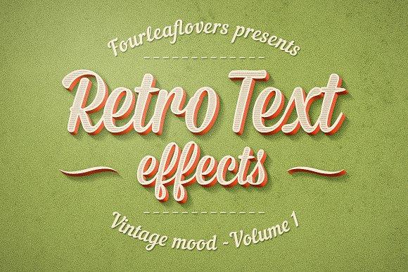 retro effect photoshop