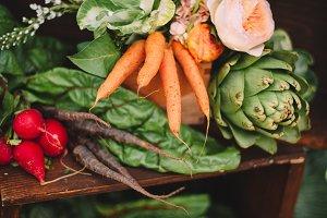 Farm Fresh Hand Picked Veggies