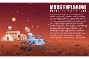 Mars robot rover
