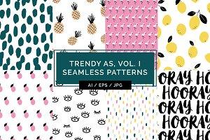 Trendy As, Vol. I Patterns