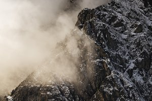 Storm over Esmeralda Peak