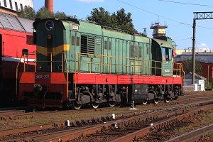 Rail transport vehicle