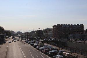City skyline landscape