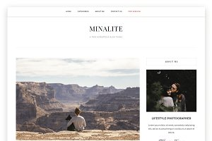 MinaLite- Responsive WordPress Blog
