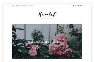 Hamlet Lite - A Blog WordPress Theme