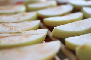 Sweet healthy dried apples