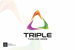 Triple - Logo Template
