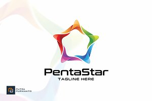 Penta Star - Logo Template