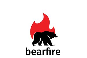 fire bear logo 2