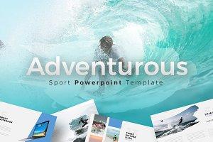 Adventurous - Brush Powerpoint