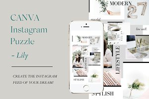 CANVA Instagram Puzzle - LILY