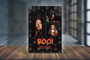 Spooky Greeting Halloween Card V02