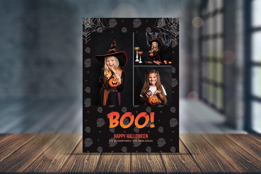 Spooky Greeting Halloween Card V02