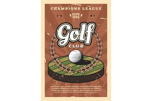 Golf league sport cup championship