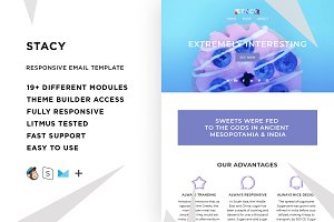 Stacy – Email template + Builder