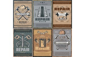 Repair service and work tools